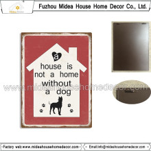 Factory Custom Dog Metal Tin Sign