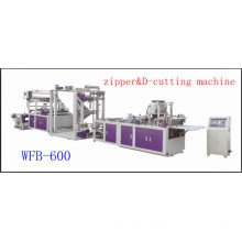 1200mm PP WFB-600 Non-Woven Zipper Bag&D-Cut Bag Making Machine