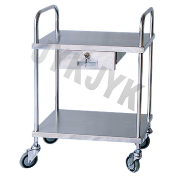 S. S. Medical Treatment Trolley with One Drawer