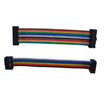 Rainbow flat cable assembly