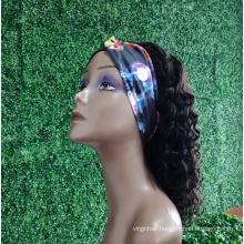 Wholesale Headband Wig Human Hair For Black Women,Remy Human Hair Headband Wig,Headband Kinky Ponytail Human Hair Wig