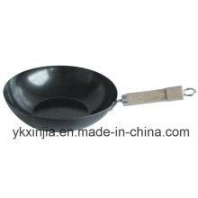 Кухонная посуда из углеродистой стали Антипригарное покрытие для посуды Wok