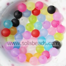 Wholesale 6mm Colorful Round Smooth Ball Pandora Beads