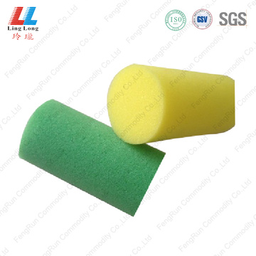 Rod style bath long sponge