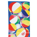 Multi-Coloured Hot Air Ball Theme Pattern Beach Towel