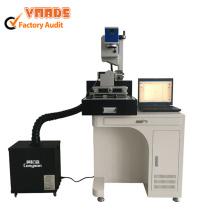 Máquina de madeira da marcação do laser do CO2 do tubo do metal 30W