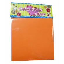 Tissue-Papiermühlen, Farbe Tissue-Papierbögen