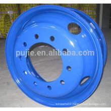 Tubeless Truck Steel Wheel Rim 22.5*7.5 factory directly
