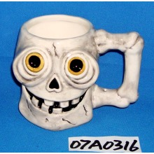 Ceramic Skull Coffee Mug for Halloween Decoration