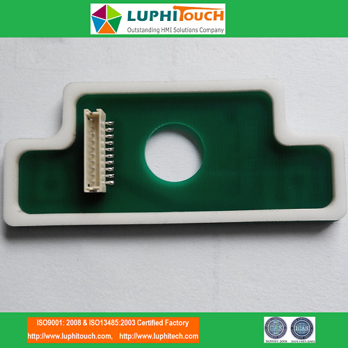 LEDs Assembled Tactile Metal Dome PCB Membrane Keypad
