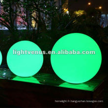 Balle légère imperméable de la boule 35cm IP68 LED / piscine de piscine de LED