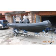 bateau gonflable nervure haute qualité RIB520 avec CE