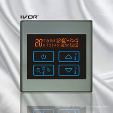 Programmierbare Fußbodenheizung Thermostat Touch Switch Kunststoffrahmen (SK-HV2300-M)