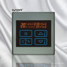 Thermomètre programmable à solvant Thermostat Cadre tactile en plastique (SK-HV2300-M)