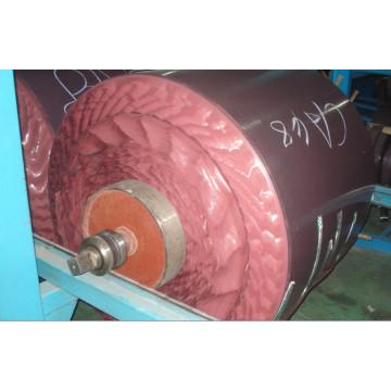 Corde en acier avec caoutchouc