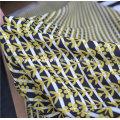 100% полиэстер Красный шифон тюль ткань для платья