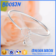 Wholesale Custom 925 Sterling Silver Bangle with Multi Charms