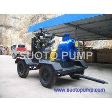 Pompe à eau à ordures à moteur diesel
