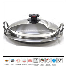 Griddle Pan Stainless Steel Grill Pan