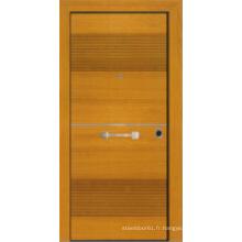 Porte blindée en bois d'acier de style turc (LTK-1101)