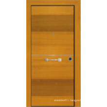 Turkish Style Steel Wooden Armored Door (LTK-1101)
