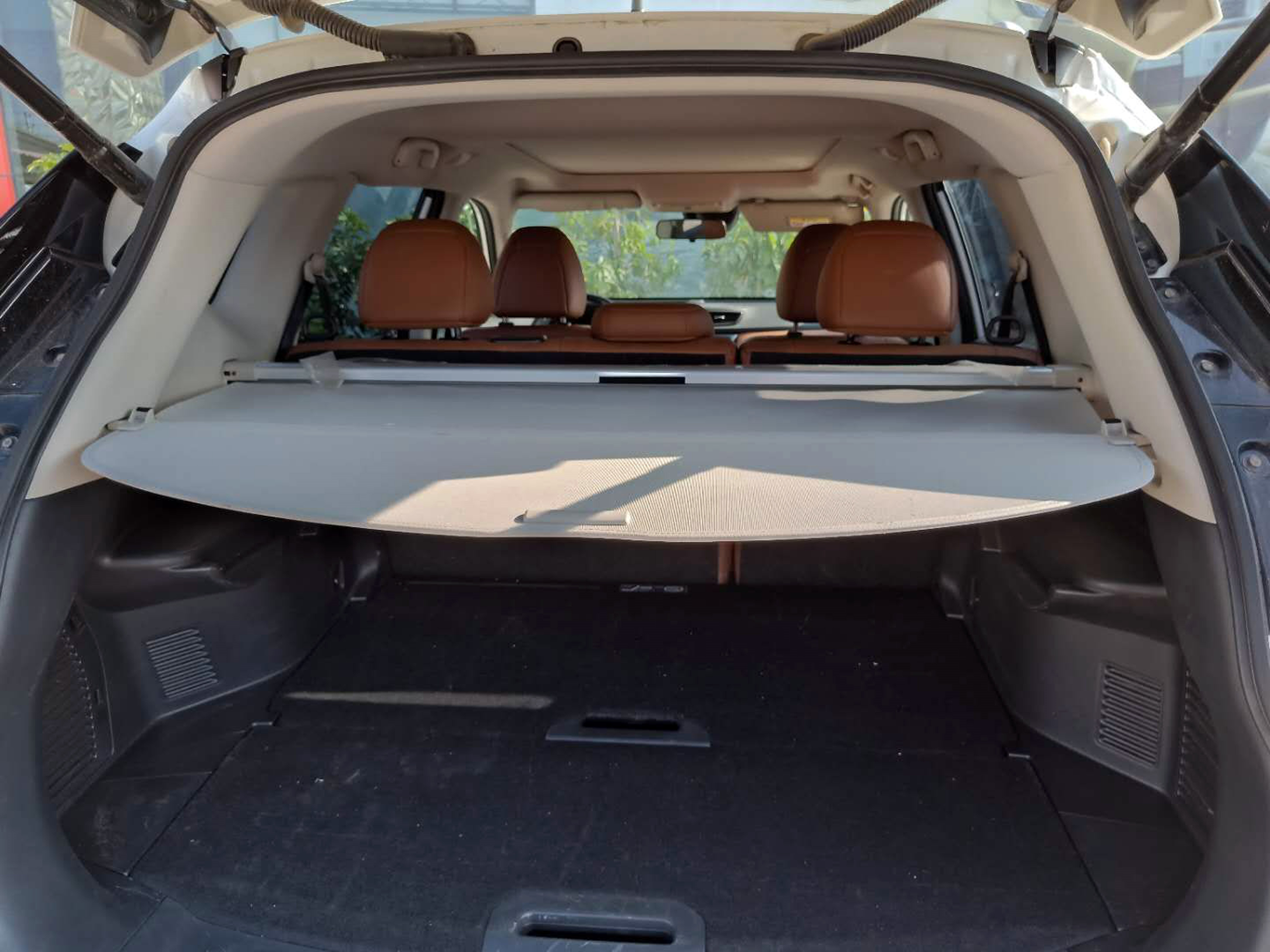 14 Nissan X-Trail Cargo Cover