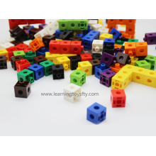 2016 Hotsale Educational Learning Toy, Plastic Snap Pop-up Cubes