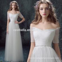 Fabrik-Preis-Schatz-Spitze-Weiß-reizvolles Prinzessin-Hochzeits-Kleid 2016