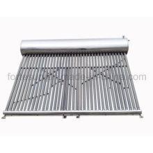 Sistema de calefacción de agua solar del tubo de vacío de la baja presión del acero inoxidable