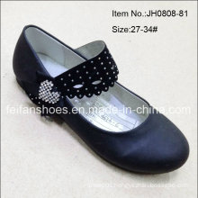 New Style Fashion Girl Black Dance Shoes Princess Shoes (JH0808-81)