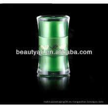 20g 50g redonda de la cintura doble revestimiento cosmético contenedor