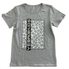T-shirt fresco do homem & das crianças na roupa do menino do homem com qualidade Sqt-611 do algodão