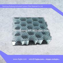 Suministro de medios de filtro de alta temperatura panal de carbón activado