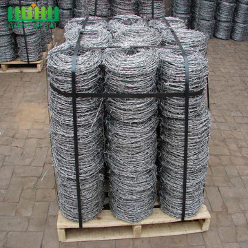 PVC coated and Hot dipped galvanized barbed wire