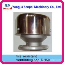 Aluminum Alloy Dn50 Fire Resistant Ventilationg Cap/ Fire Resistant Cap
