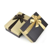 Caixa de presente de papelão de papelão de arte extravagante