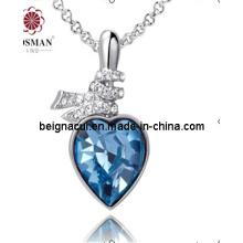 Sw Elements Cristal Colar Coração Coração Indicolite