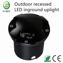 Outdoor recessed led inground uplight