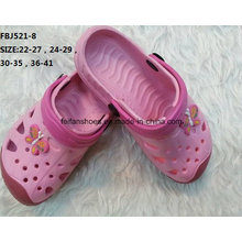 Hot Selling Fashion Cartoon EVA Garden Shoes for Children (FBJ521-8)
