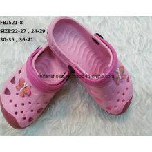 Горячая Продажа мода мультфильм Ева сад обуви для детей (FBJ521-8)