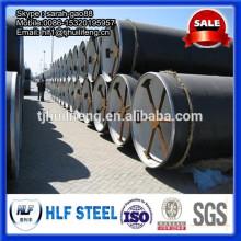 Cimento argamassa forro tubo de aço / cimento que faz linha de produção