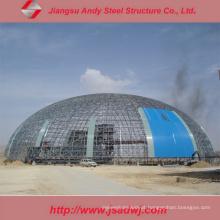 Galpão de armazenamento de carvão Edifício de estrutura de aço pré-fabricado