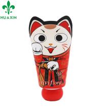 tubo cosmético de la crema de la mano del tubo que empaqueta con forma linda