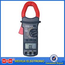 Medidor de abrazadera digital de rango automático con True RMS DT201D