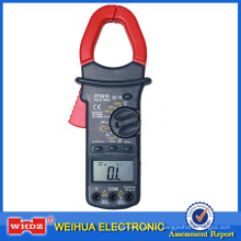 Medidor digital de pinça automática com True RMS DT201D