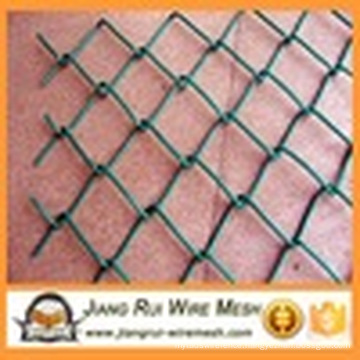 Made in Anping Galvanized Chain Link Fences are used in protective place