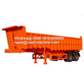 HYVA Lifting 3 Axles 30-45 CBM Dump Trailer