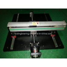 Sistema de deslizamiento lineal de alto rendimiento con brazo robótico