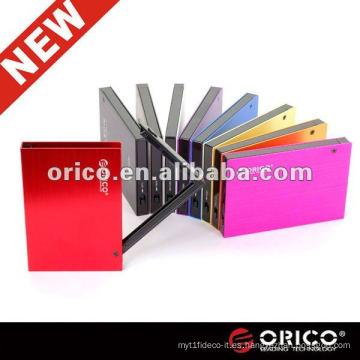"ORICO 2595SUS3 SuperSpeed aluminio usb Cubierta de disco duro externo de 3.0 a 2.5 """