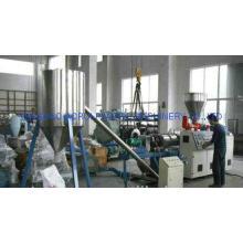 PVC Plastic Granules Machine , High Speed Pellet Extruder